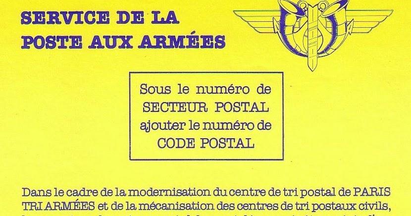 la poste aux armees la cr 233 ation d un code postal pour la poste aux arm 233 es