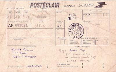 La poste aux armees f vrier 2008 - Bureau de poste palaiseau ...