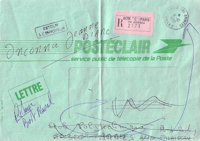 La poste aux armees t l copie de la poste posteclair tarif sp cial lors de la guerre du golfe - Bureau de poste palaiseau ...