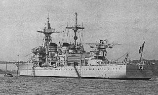 L'art du camouflage Naval Croiseur+GLOIRE
