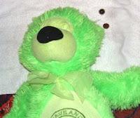 eyeless teddy bear