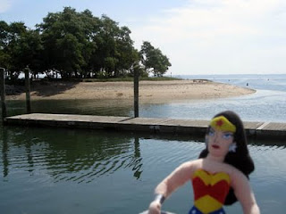 wonder woman cove island