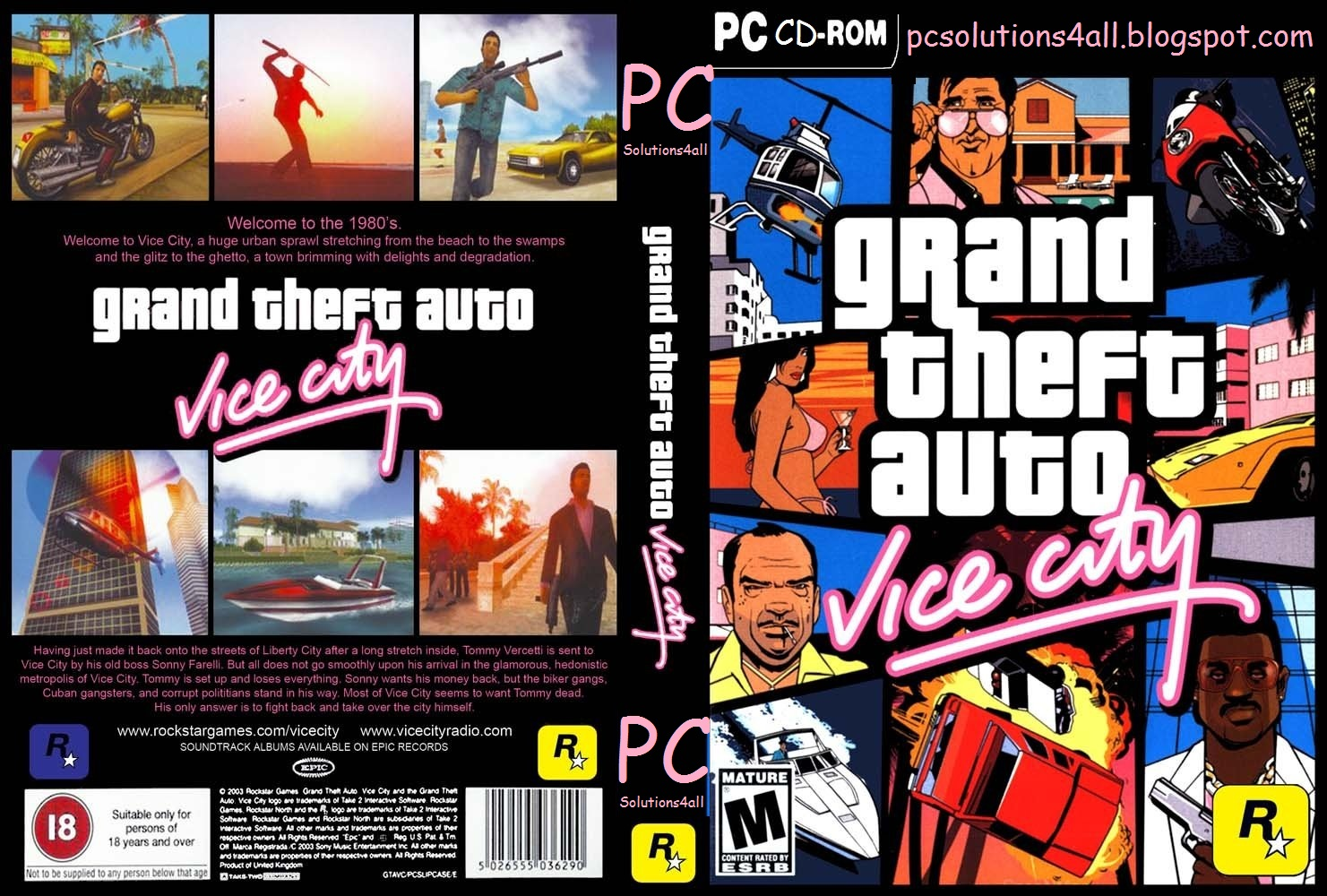 Gta 6 Cover: Download Gta Vice City Full Version PC Game For Windows