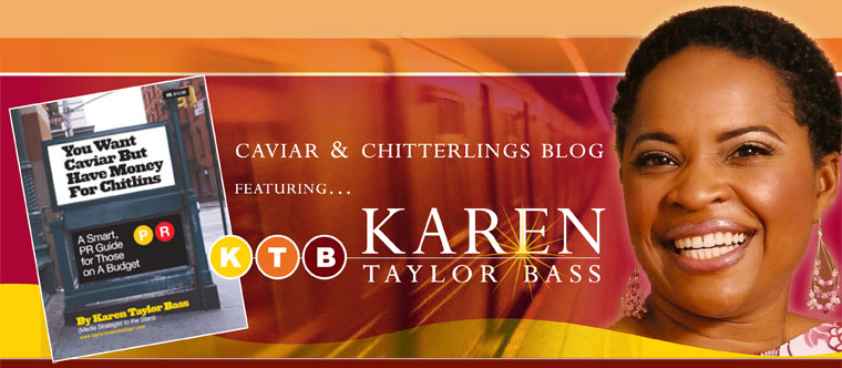 Karen Taylor Bass, The PR Expert