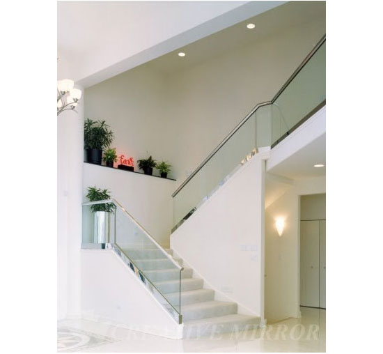 Glass Railing Gala Atm Mirror And Glass Westchester