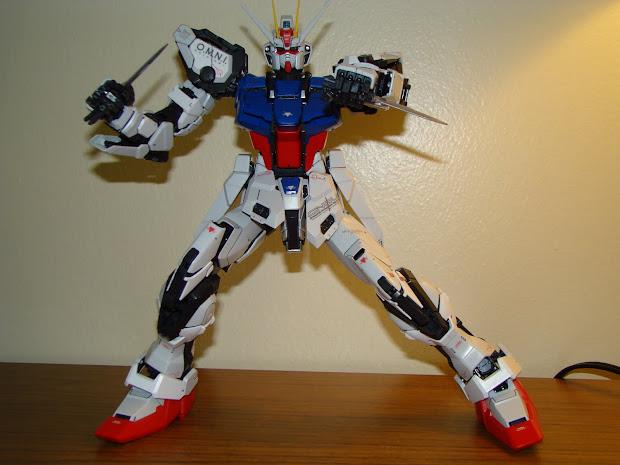 Tember Gundam Perfect Grade Strike