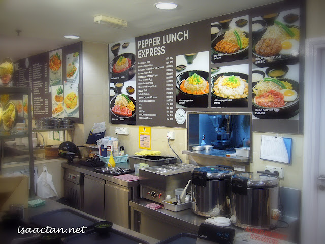 pepper lunch express midvalley megamall