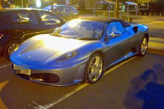 Ferrari F430 Spider parked in North West London
