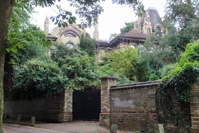 Boy George's Gothic-style home in Hampstead, North London