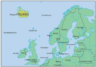 nord europa kart Svartpåhvitt: Nei til EU nord europa kart