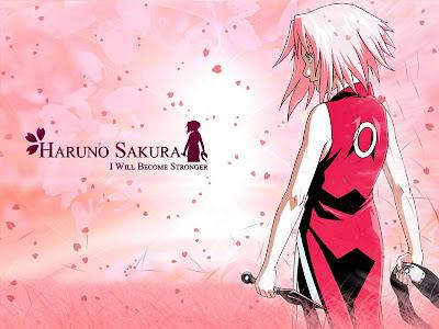 Sakura Haruno Sweet wallpaper