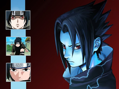 Naruto Wallpapers - Sasuke Uchida when he is young