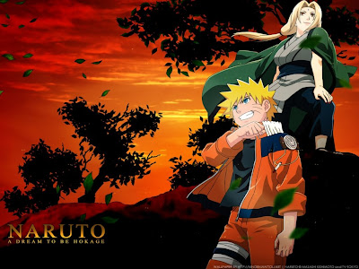 Naruto and Tsunade
