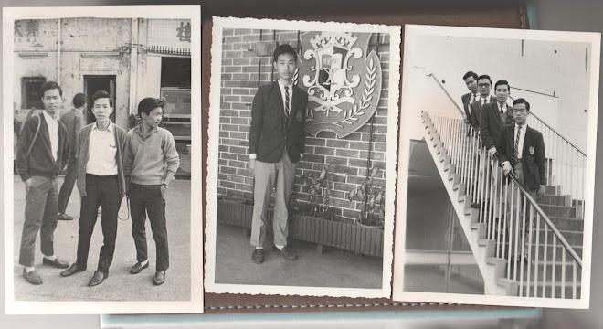 Photo 1: Trio / Photo 2: School Insignia / Photo 3: Staircase Quartet (Photo credit: Danny Ho)