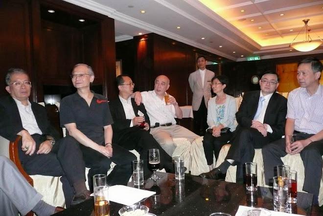 June 3, 2008 Dinner in Hong Kong