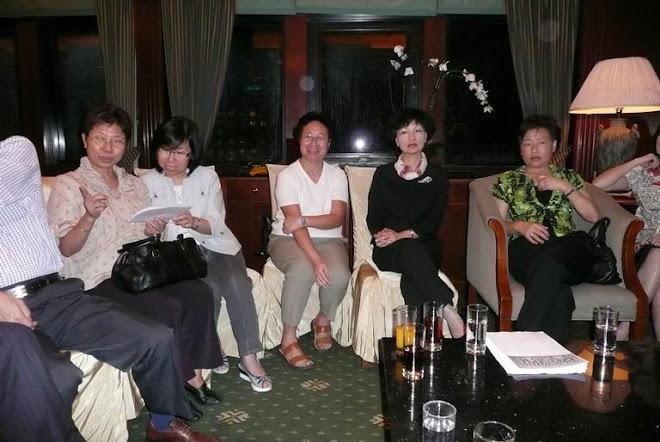 June 3, 2008 Dinner at Bankers' Club, HK