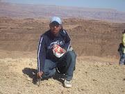 على جبل فى سيناء