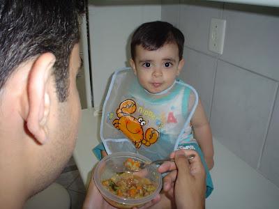 Dicas para 1ª refeição com o papai