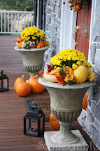 Outdoor Fall Decor - Stonegable