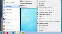Menu Start XP su Windows 7 per avviare i programmi in modo classico
