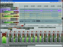 studio musicale multitraccia