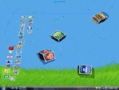 muovere le icone in 3d sul desktop