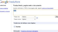 Pronuncia vocale in inglese e traduzione istantanea con Google Translate