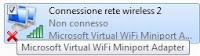 Microsoft virtual wifi miniport adapter