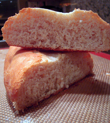 Homemade Baguette - on the table in under an hour! Great weeknight homemade bread recipe. Tastes great!