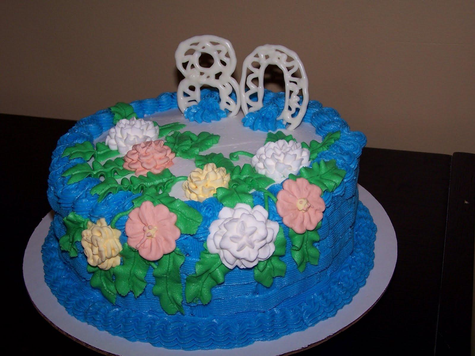 Dave The Cake Man Happy 80th Birthday