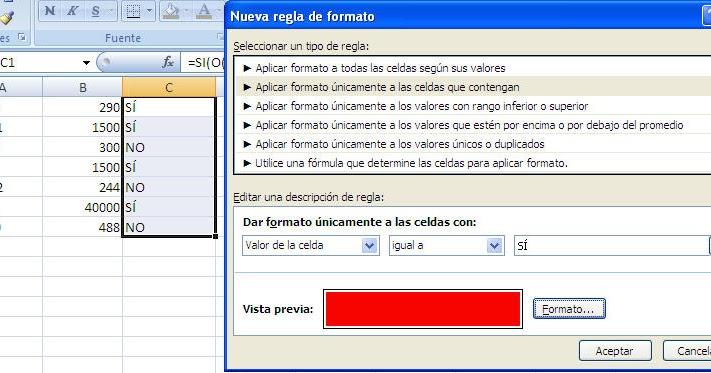 Excel m s cerca condicionales en funciones si complejas - Cambiar una casa por otra ...