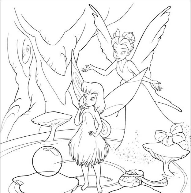 tinkerbell coloring sheets: Tinkerbell Coloring