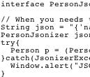 Jsonizer Screenshot