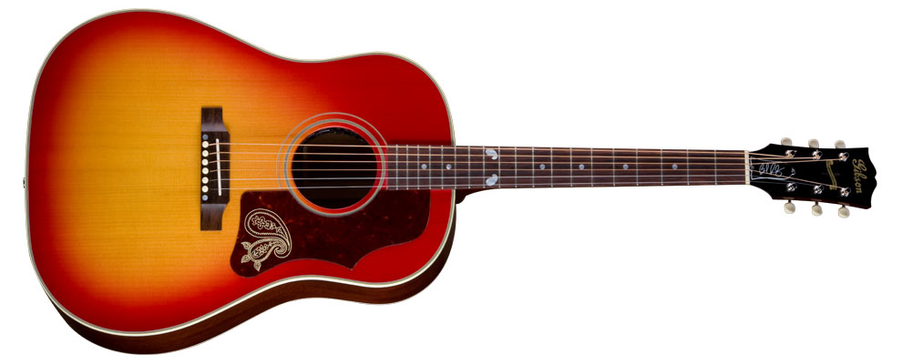 brad paisely 39 s signature gibson guitar released country music rocks. Black Bedroom Furniture Sets. Home Design Ideas