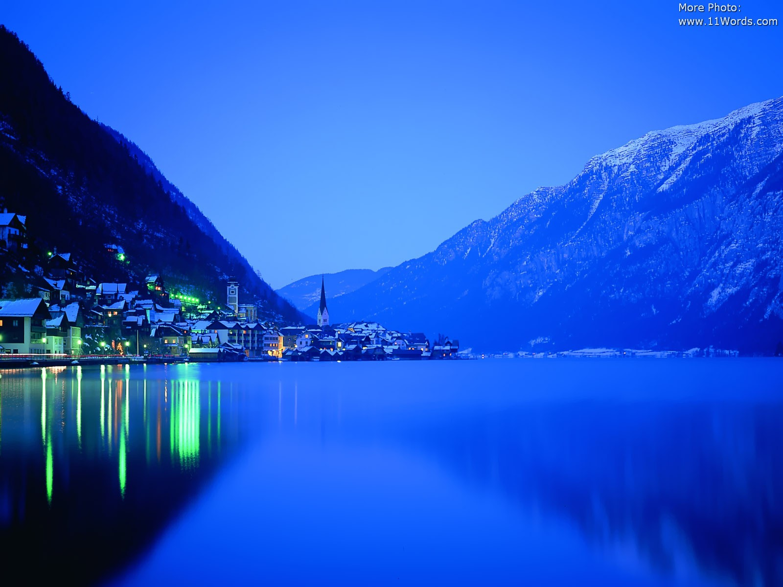 Free Wallpapers: Cities Scenes In Night Time