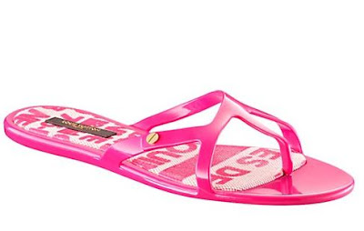 f483f802b1b8 Savvy Mode  Louis Vuitton Jelly Sandals
