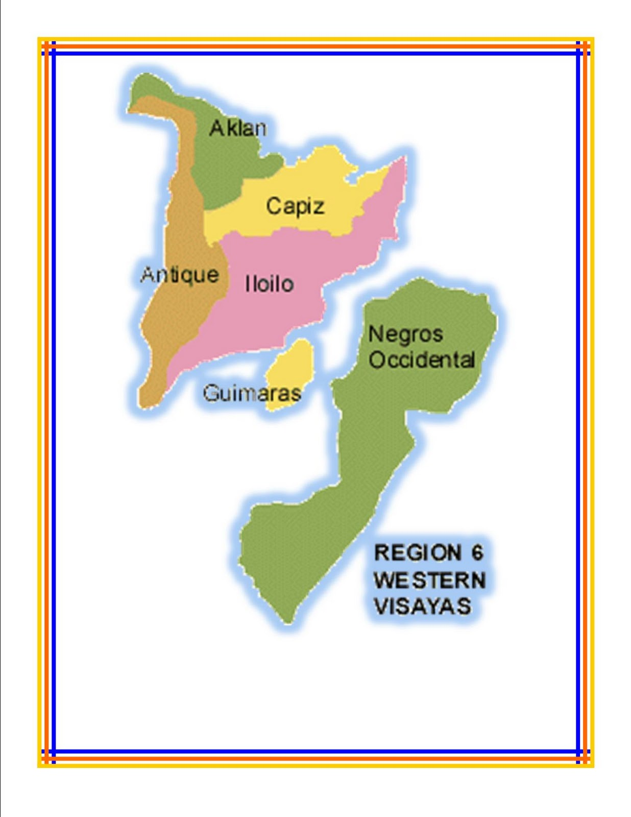 Mellec Computer Center Araling Pinoy Philippine Regions