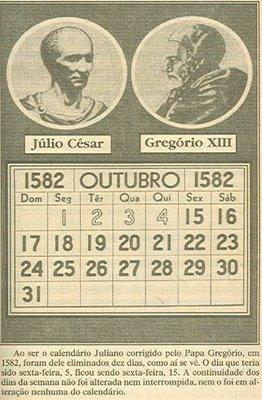 Calendario Gregoriano.Calendario Gregoriano E Juliano Jesuseamorverdadeiro