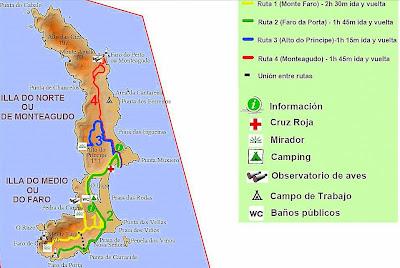 ilhas cies mapa ROTASDOBARROSO: ILHAS CIES   JUNHO 2008 ilhas cies mapa