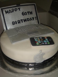 Citscakes Apple Mac Laptop And Iphone Cake