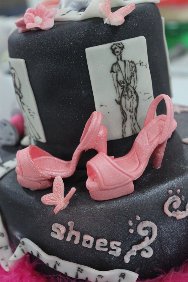 Citscakes Fashion Designer Theme Cake