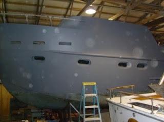 Conall's Boat Build: Fairing the hull