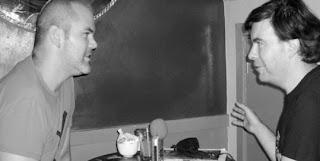 Zan Christensen being interviewed by Alex Fitch