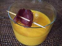 recettes  extase de carotte au cumin