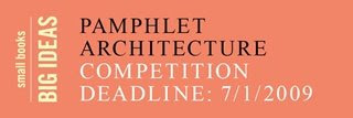 Pamphlet Architecture Competition