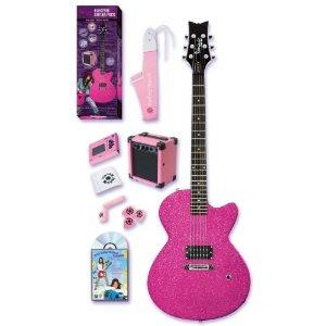 pink acoustic guitars for sale pink electric guitars. Black Bedroom Furniture Sets. Home Design Ideas
