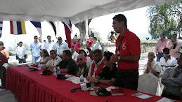 Acto de apertura Interinstitucional y Comunitaria, realizado en la Plaza Tacarigua, Edo. Aragua.