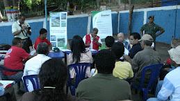 Mesa de Trabajo realizada en la Isla de Tacarigua