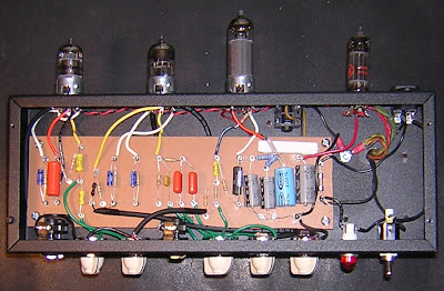 Enginerd diy tube amp site: vox ac4 with top boost