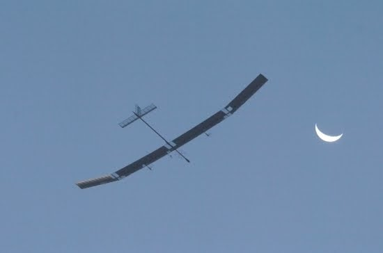 Solar Powered Uav Goes Down In History As First Quot Eternal